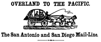 Overland To The Pacific First Transcontinental Mail Delivery Celebration