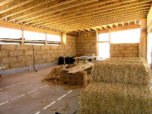 "The Begole Center is a ""straw bale"" building."