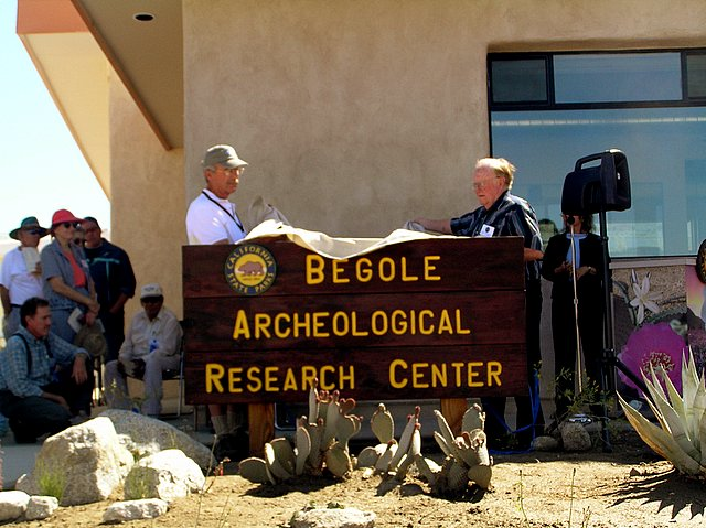 Unveiling the new Begole Archaeological Research Center