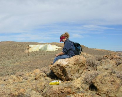 Denise Jaffke at Bodie State Historic Park