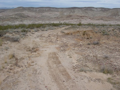 OHV damages are pronounced at Red Rock Canyon