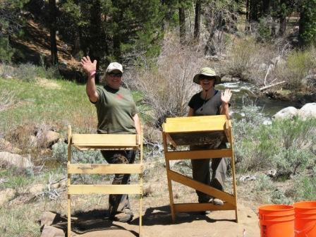 Long and Einhorn at Grover Hot Springs