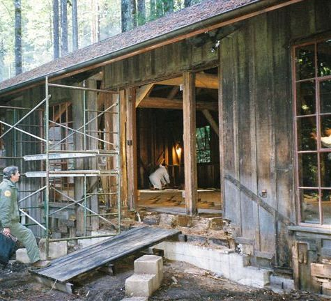 Mendocino Woodlands State Park Social Hall is a 2007 Deferred Maintenance Project.