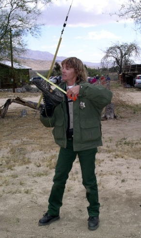 Ranger explains methods of information collection.