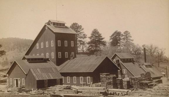 Stonewall MIne circa 1889-1890