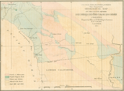 San Diego and Colorado River map