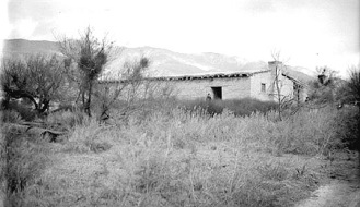 The Old Vallecito Butterfield Overland Mail station in Anza-Borrego Desert.