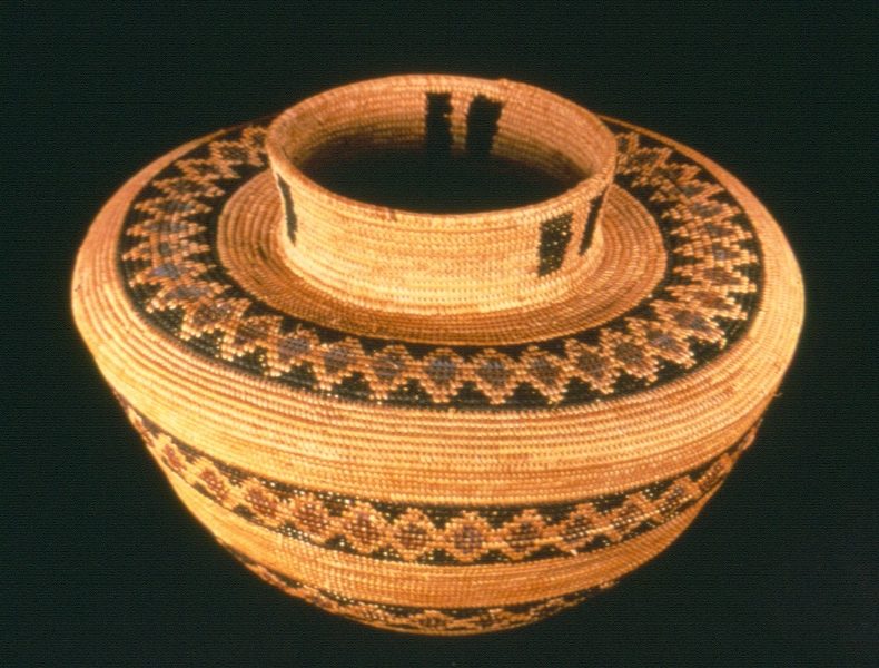Coiled Water Basket