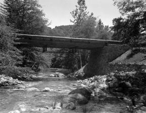 CCC built Weyland Bridge at Pfeiffer Big Sur