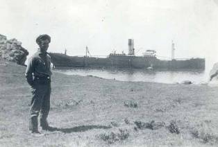 SS Norlina sinking at Salt Point State Park (1926)