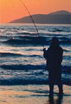 Sunset Fisherman at Pismo SB