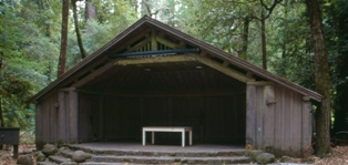Big Basin Outdoor Theater, photo by Joe Engbeck
