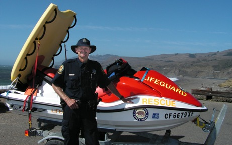 Brit Horn, State Parks Lifeguard