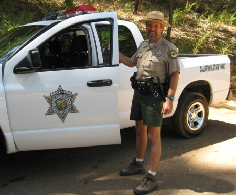 Ranger Scott Liske of Auburn State Recreation Area