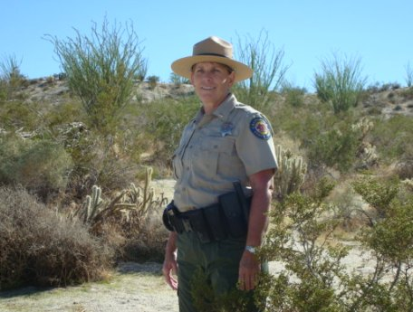 State Parks Ranger Sue McLaughlin