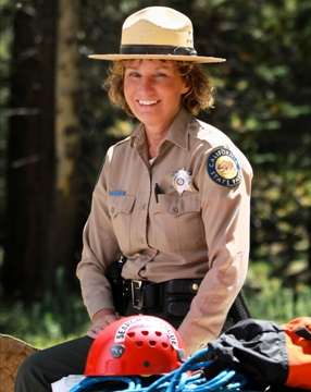 California State Parks Ranger Sue Neary