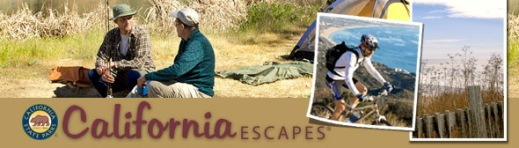 Welcome to California Escapes, State Parks's Online Magazine.