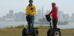 Segways at Angel Island State Park