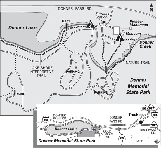 Lakeshore Interpretive Trail Map