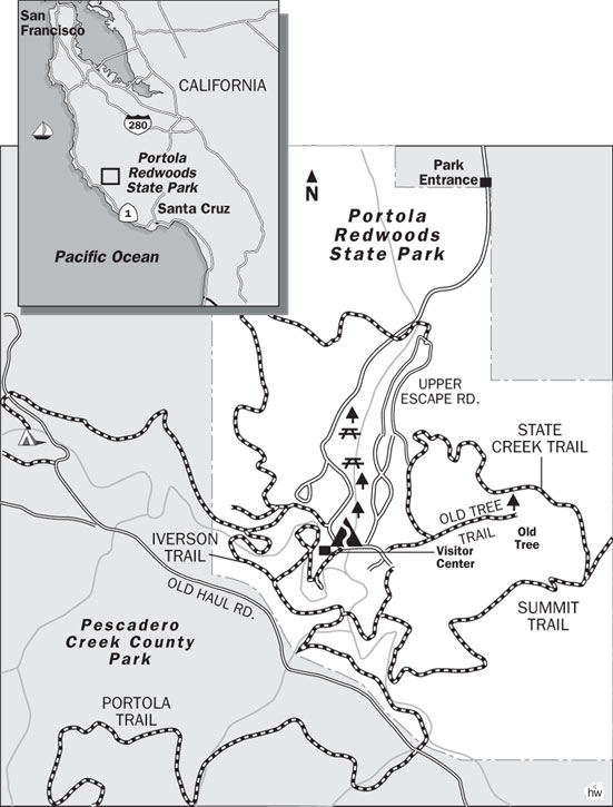 Iverson, Summit, Slate Creek Trails Map