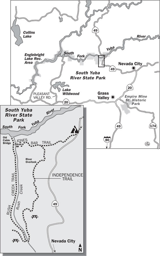 Independence Trail Map