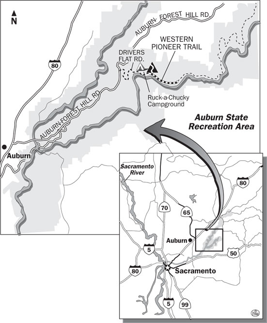 Western Pioneer Trail Map
