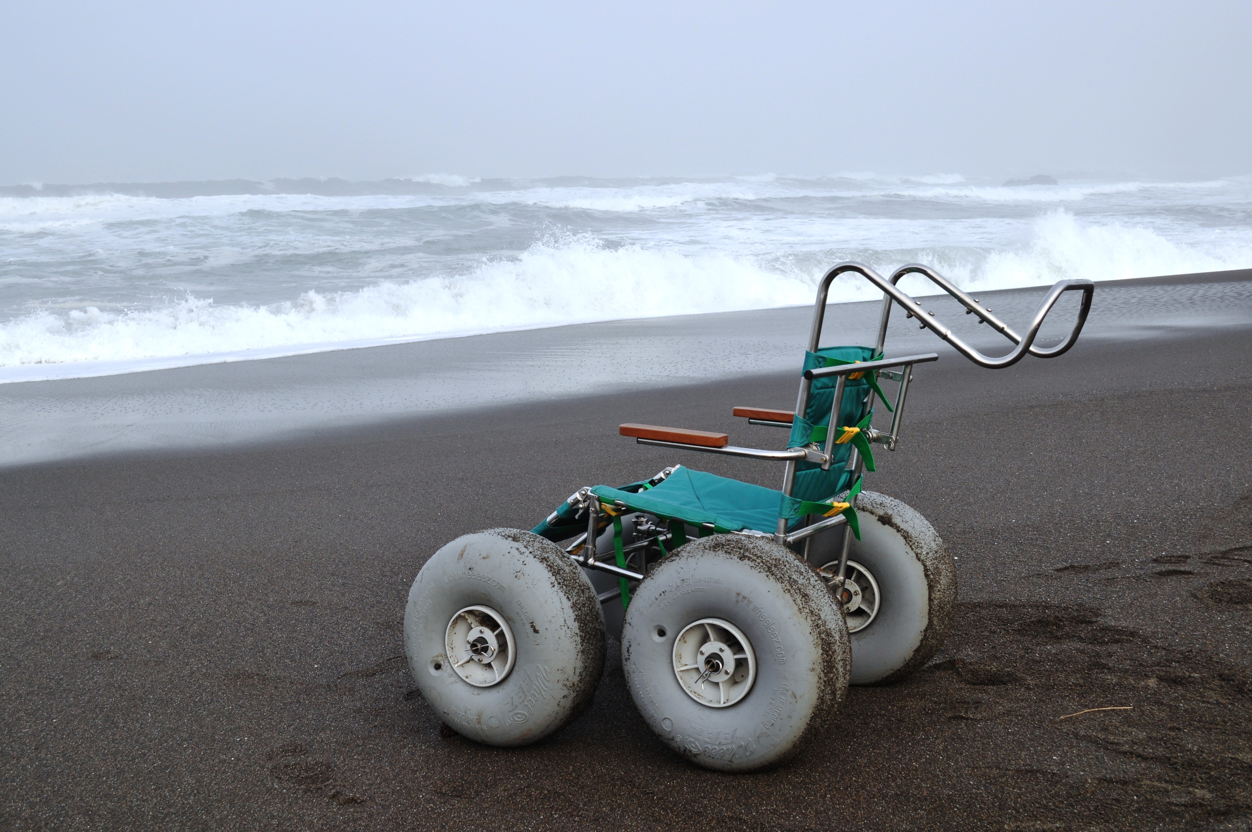 Beach Wheelchair Image