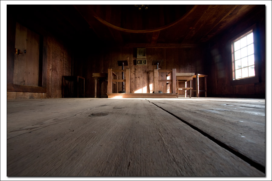 Fort Ross Church by Oscar Vasquez © CA State Parks 2008