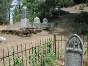 Shasta SHP - Cemetery trail leads visitors to the Catholic Cemetery.