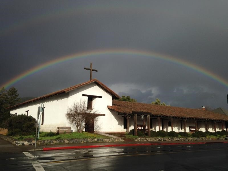 Rainbow over Mission
