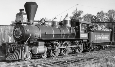 Historic Sierra No. 3 Locomotive
