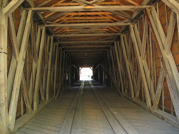 View of inside of Bridge