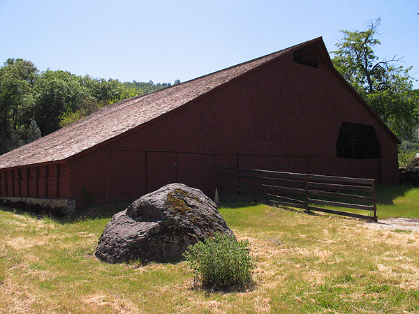 View of Barn