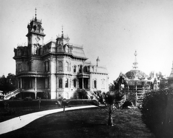 The Mansion was originally built in 1877.