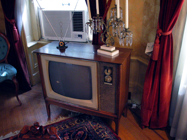 Original Television owned by former California Governor.