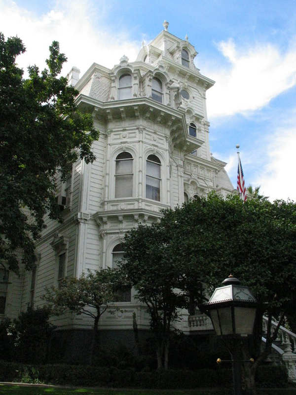 Front View of Governor's Mansion.