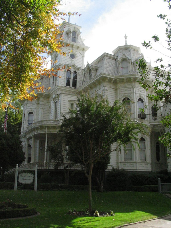 View of Governor's Mansion.