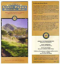 California State Parks Official Map