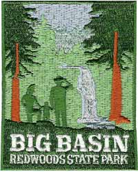Big Basin Redwoods State Park Patch
