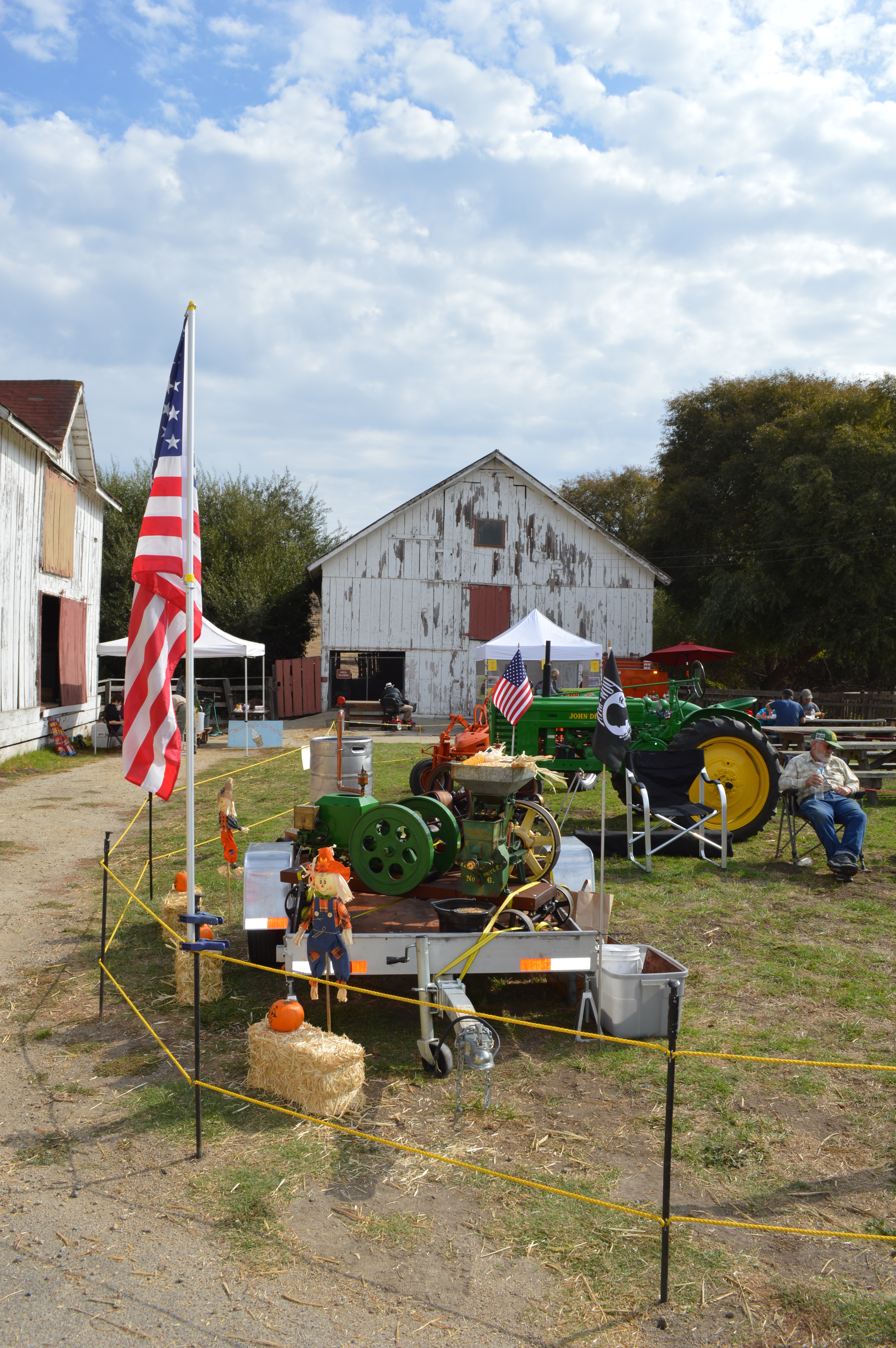 Farm Equipment display