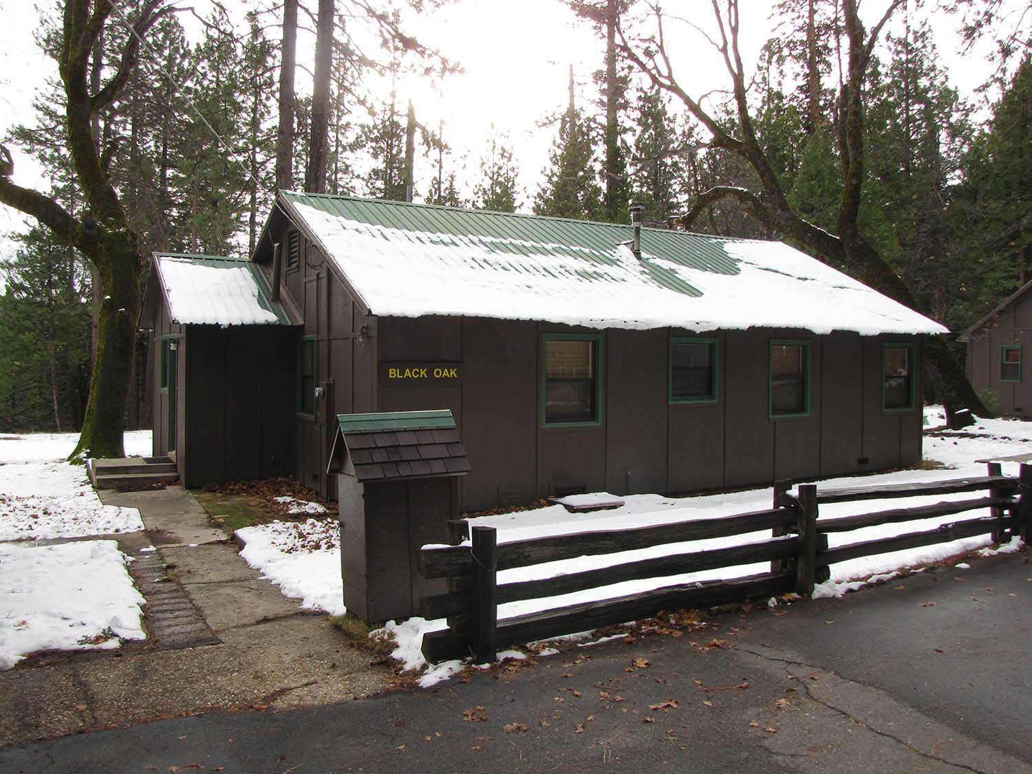 Calaveras Big Trees Cabin