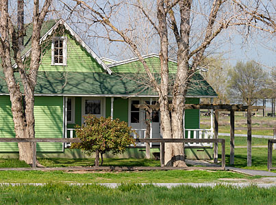 Allensworth family home