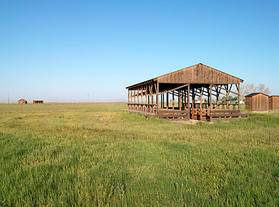 A view of Allensworth from afar