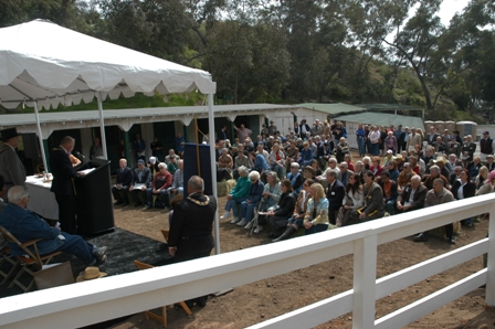 Jim Rogers Barn Celebration at the Welcome Back to the Ranch event on March 25, 2006