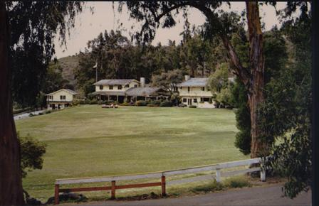 The Will Rogers Ranch House in Pacific Palisades.