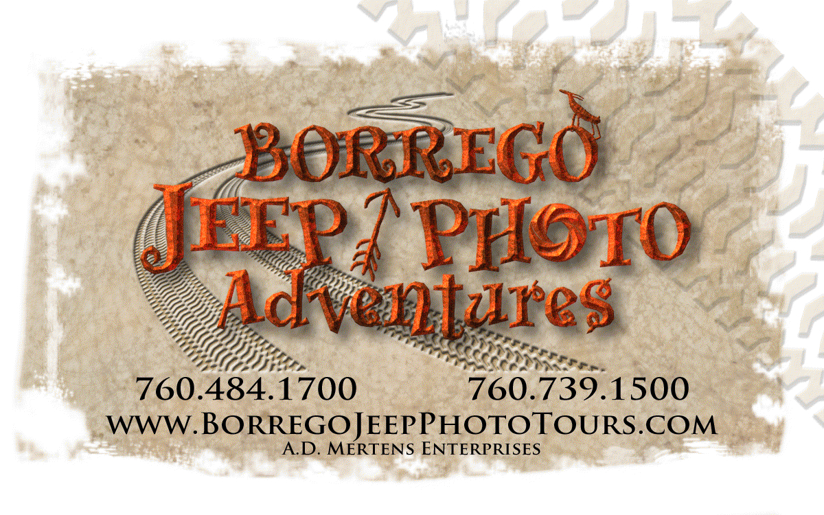 Borrego Jeep Photo Adventures