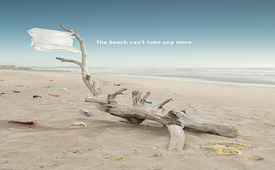 Beach cleaning image