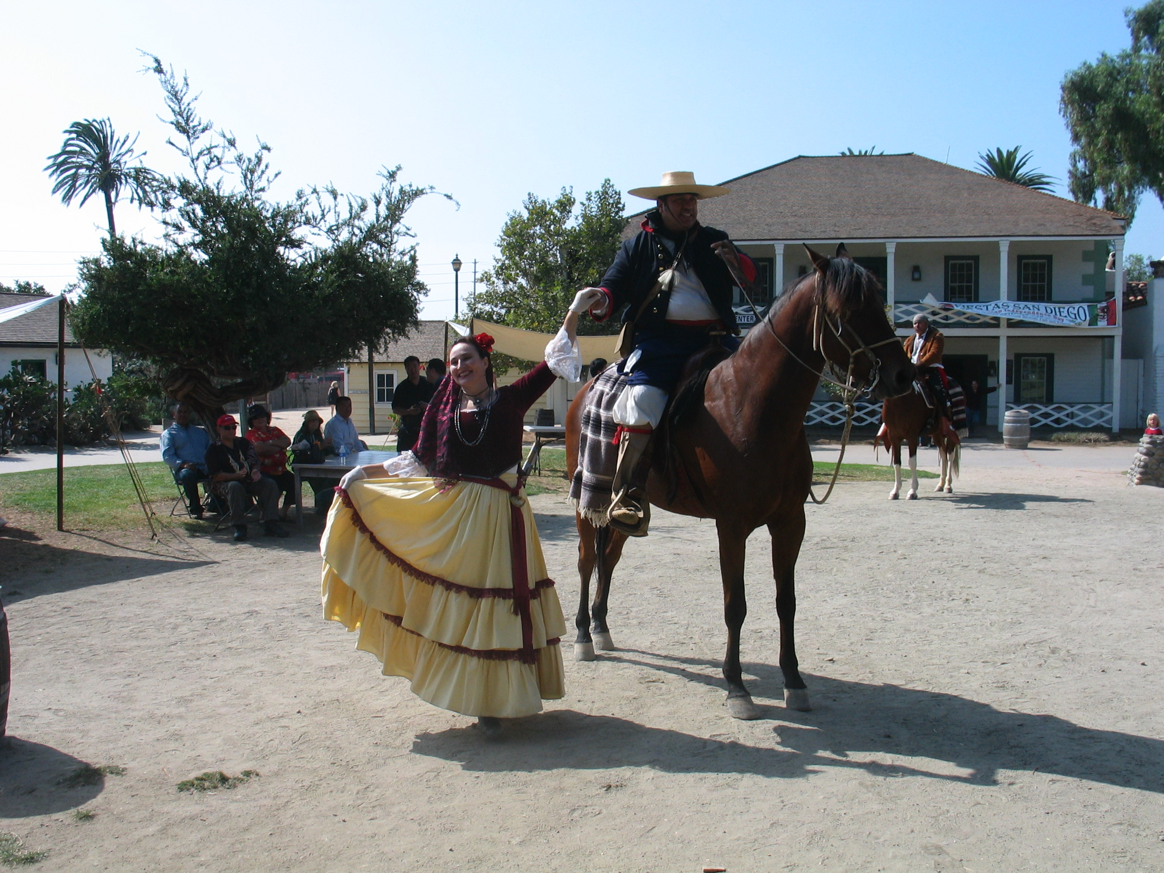 Photo from Fiestas Patrias Special Event on Sept. 14, 2008 at Old Town San Diego SHP