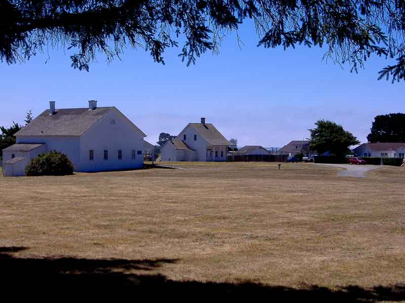 Fort Humboldt SHP Buildings