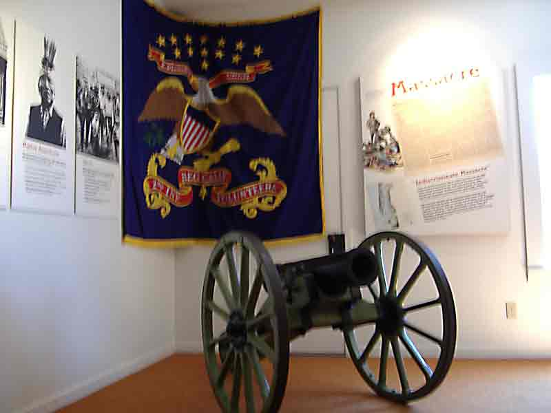 Fort Humboldt SHP Howitzer Canon
